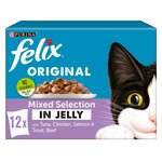 Felix Cat Food Mixed Selection In Jelly
