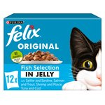 Felix Cat Food Fish Selection In Jelly