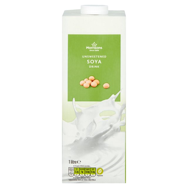 Morrisons Long Life Unsweetened Soya Milk Alternative