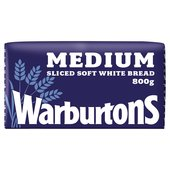 Warburtons Medium White Loaf