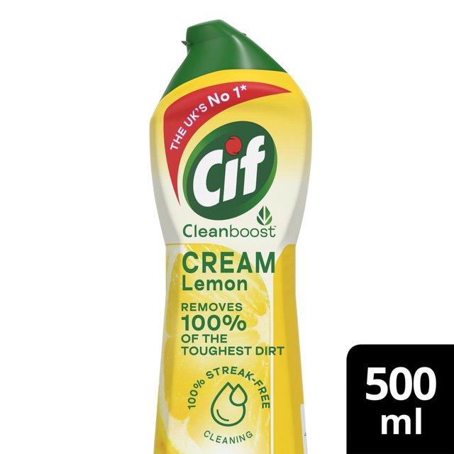 Cif Lemon Cream Cleaner