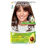 Garnier Nutrisse Creme Permanent Nourishing Hair Colour Mocha 5 Brown
