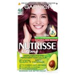 Garnier Nutrisse Creme Permanent Nourishing Morello Cherry 4.6  Deep Red