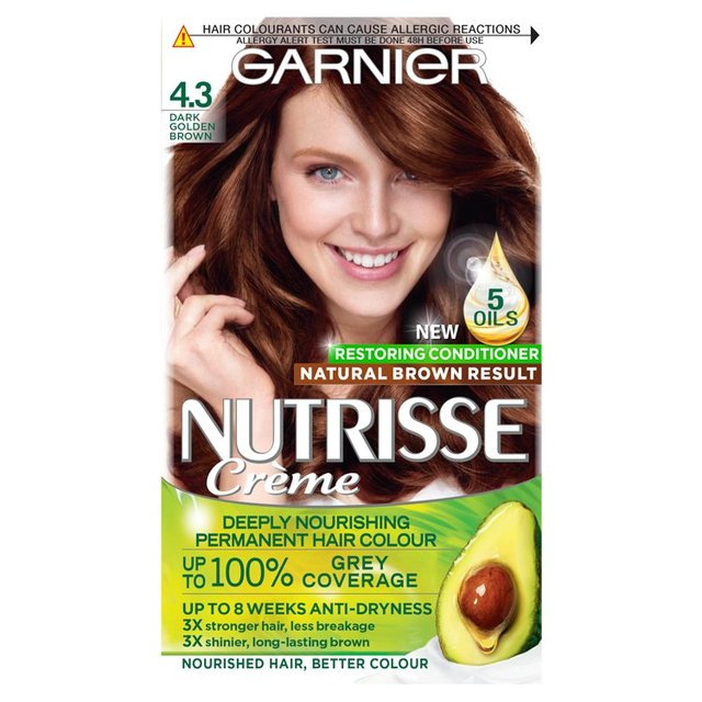 Garnier Nutrisse Permanent Haircolor Jet Blue Black 2 6oz