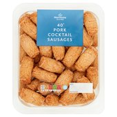 Morrisons Pork Cocktail Sausages 40 Pack