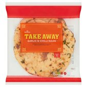 Morrisons Indian Takeaway Garlic & Chilli Naan