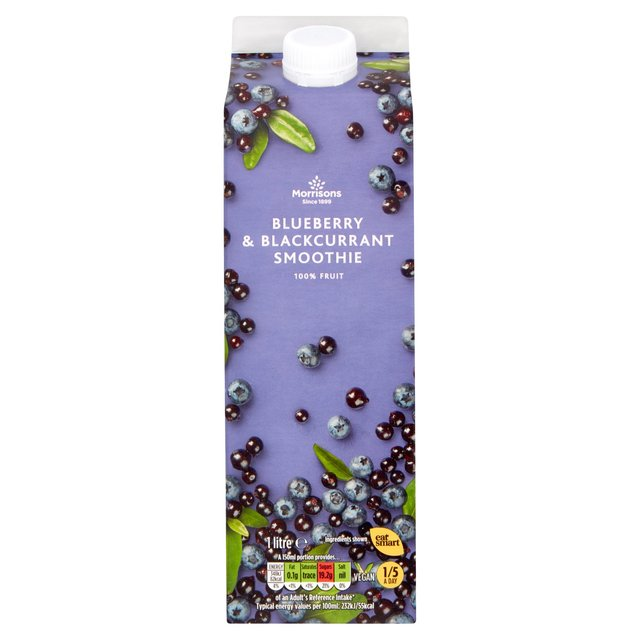 Morrisons Blueberry and Blackcurrant Smoothie