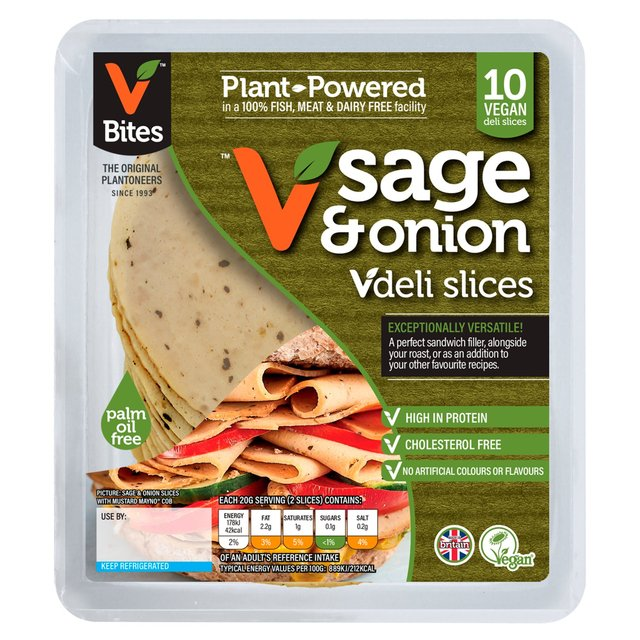 VBites VegiDeli Sage and Onion Slices