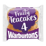 Warburtons Fruity Teacakes