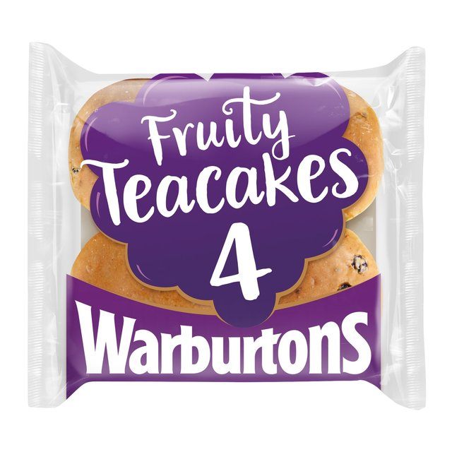 MORRISONS > Bakery > Warburtons Fruity Teacakes