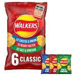 Walkers Classic Variety Flavour Crisps Multipack