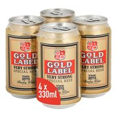 Gold Label Cans