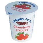 Longley Farm Strawberry Yogurt