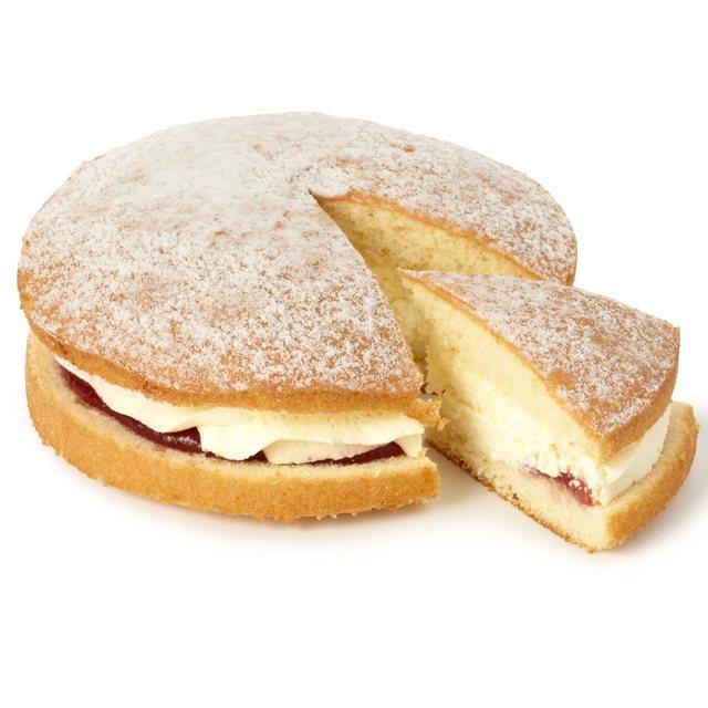 Calories In Morrisons Fresh Cream Sponge Cake