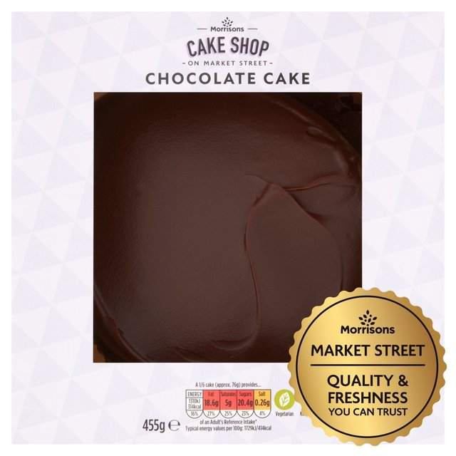 Morrisons Market St Chocolate Cake