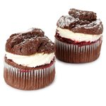 Morrisons Fresh Cream Cherry & Chocolate Muffins