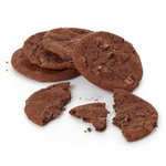 Morrisons Double Chocolate Chunk Cookies
