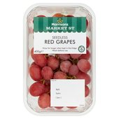 Morrisons Seedless Red Grapes