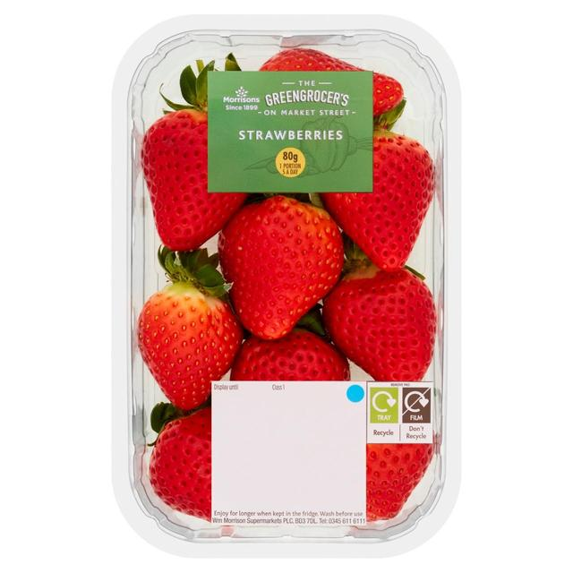 Morrisons  Strawberries Pack