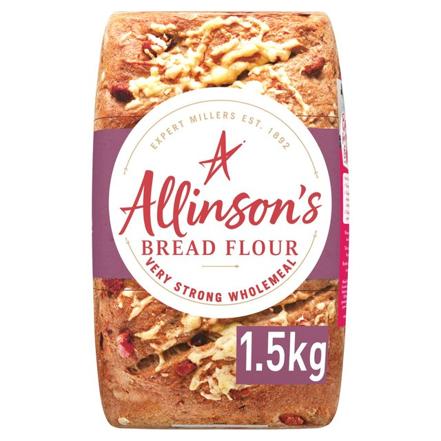 Allinson's Wholemeal Very Strong Flour 1.5kg