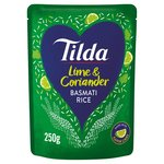 Tilda Steamed Basmati Rice Lime and Coriander
