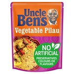 Uncle Bens Vegetable Pilau Microwave Rice