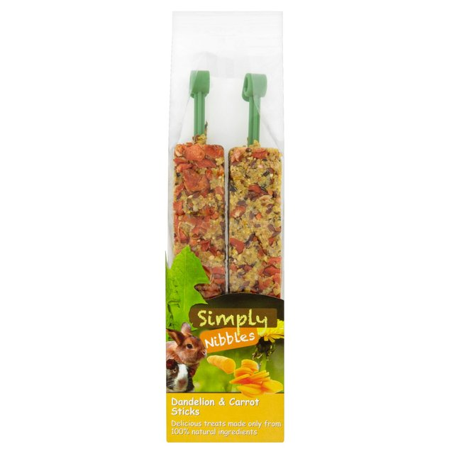 Simply Nibbles Dandelion & Carrot Sticks