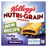 Kellogg's Nutri Grain Blueberry Breakfast Bars
