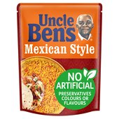 Uncle Bens Mexican Style Microwave Rice