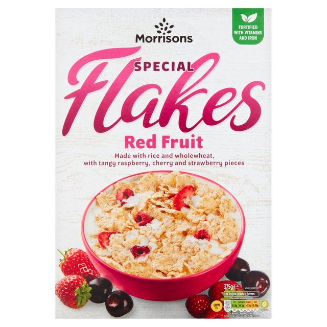 Morrisons Red Fruit Special Flakes