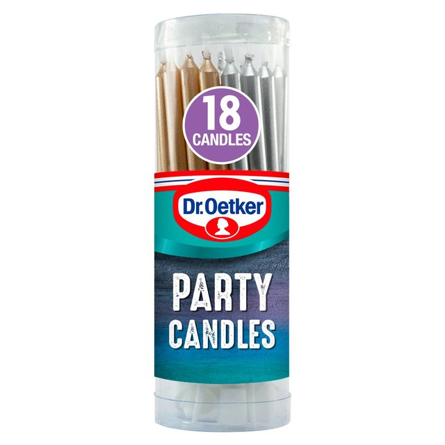 Dr. Oetker 18 Party Candles