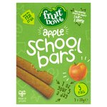 Fruit Bowl Apple School Bars