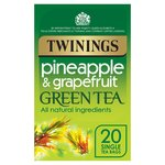 Twinings Pineapple & Grapefruit Green Tea Bags 20s
