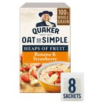 Quaker Oat So Simple Heaps Of Fruit Banana & Strawberry Porridge