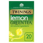 Twinings Lemon Green Tea Bags 20s