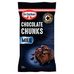 Dr. Oetker Milk Chocolate Chunks