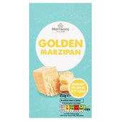 Morrisons Golden Marzipan