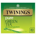 Twinings Pure Green Tea Bags 80s