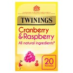 Twinings Cranberry & Raspberry Tea Bags 20s