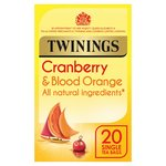Twinings Cranberry & Orange Tea Bags  20s