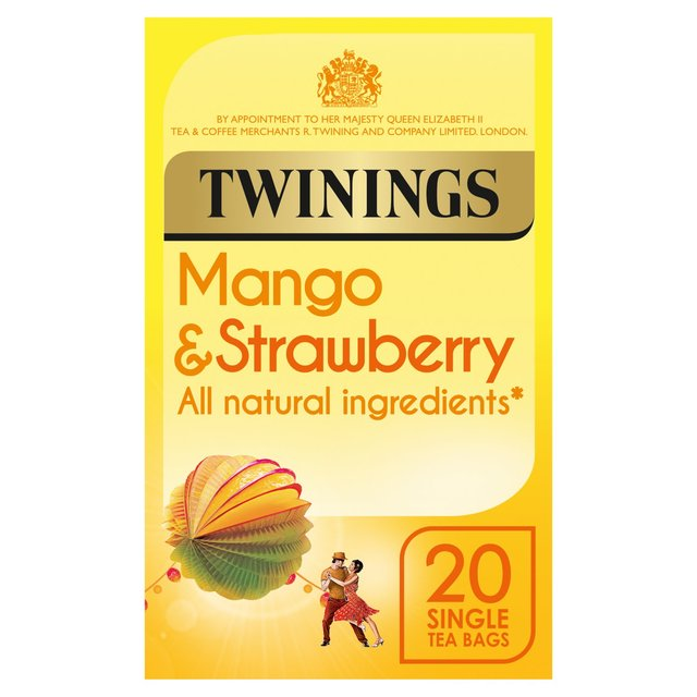 Morrisons Twinings Strawberry Amp Mango Tea Bags 20 Per