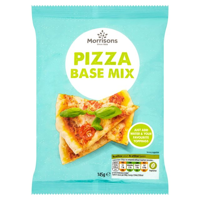 Morrisons Pizza Base Mix