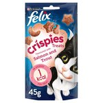 Felix Crispies Cat Treat Salmon and Trout