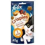 Felix Crispies Cat Treat Beef and Chicken