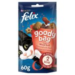 Felix Goody Bag Cat Treat Mixed Grill