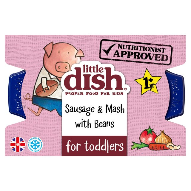 Little Dish Sausage & Mash with Beans Toddler Meal
