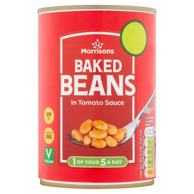 Morrisons Morrisons Baked Beans 410g Product Information