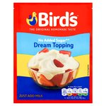 Bird's No Added Sugar Dream Topping