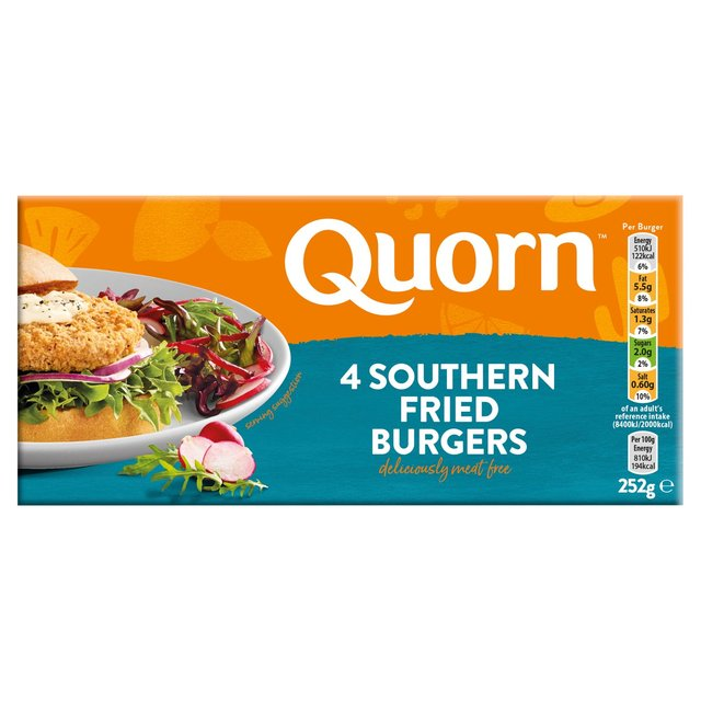 Quorn Southern Fried Burgers 4 Pack