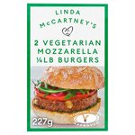 Linda McCartney Mozzarella Quarter Pounder Burger